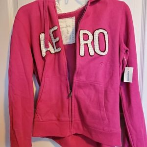 Dark Pink Aeropostale Jacket